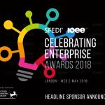 Headline Sponsor Announced for Celebrating Enterprise 2018 Awards!