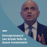 Entrepreneurs' tax break fails to boost investment, finds IFS