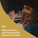Tips on how to pitch to potential business investors